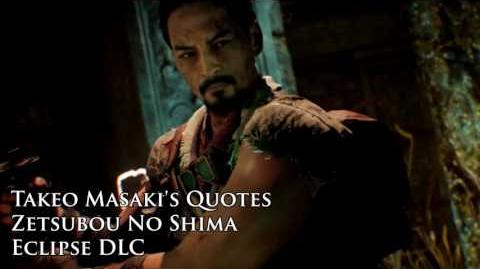 "Zetsubou No Shima - Takeo Masaki's quotes sound files (Black Ops III ""Eclipse"" DLC)"
