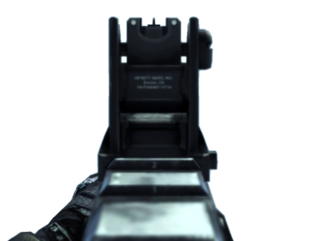 File:Vector Iron Sights MW2.png