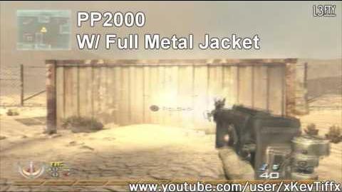 Call of Duty® Modern Warfare 2 - PP2000 Machine Pistol Attachments Guide (All Attachments)