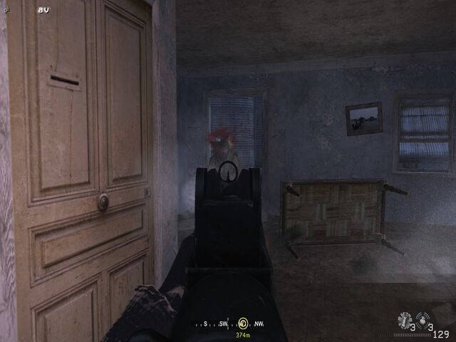 File:Taking out tangos entering house Hunted CoD4.jpg