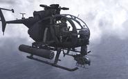 AH-6 Little Bird The Gulag MW2