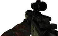 M4A1 ACOG Scope MW2