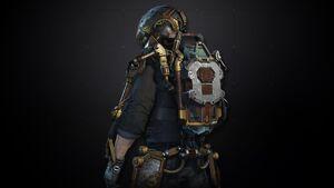Steampunk Exoskeleton Pack AW