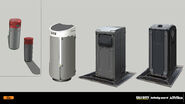 Trash can concept IW