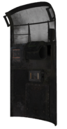 Riot Shield model rear CoDG