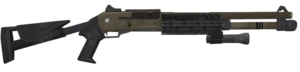 M1014 3rd person MW2