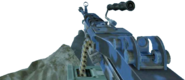 M249 SAW Blue Tiger CoD4