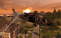 UH-60 Blackhawk going down Exodus MW2.png