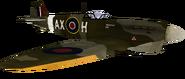 Spitfire model CoD2