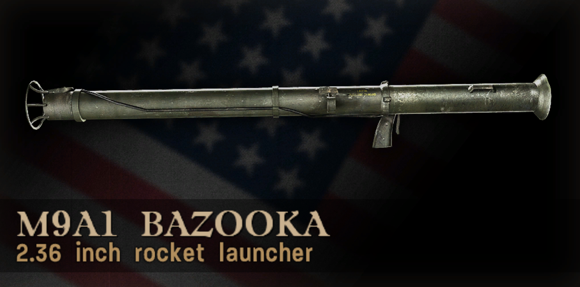 M9A1 Bazooka Menu Icon CoD3