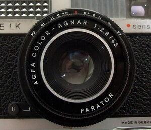 Parator on Agfa Silette LK Sensor