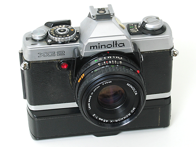 The Rokkor Files - The Minolta XG Series
