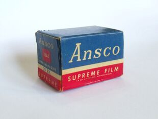 Ansco Supreme Panchromatic Film (35mm)