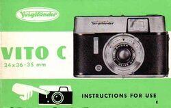 Voigtlander-Vito-C-Instruction-Manual
