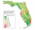 Florida population map.png