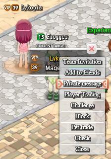 PM playermenu