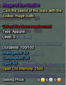 Mage of the Zodiac Description