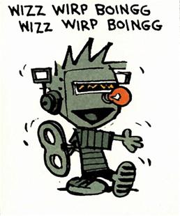 Wind-up Calvin