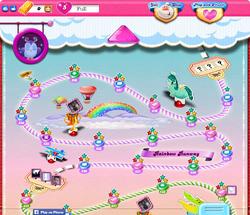 Rainbow Runway Map