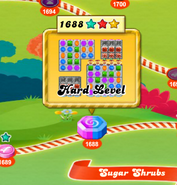how to win level 1688 candy crush sga