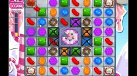 Candy Crush Saga Level 486 3 stars NO BOOSTERS