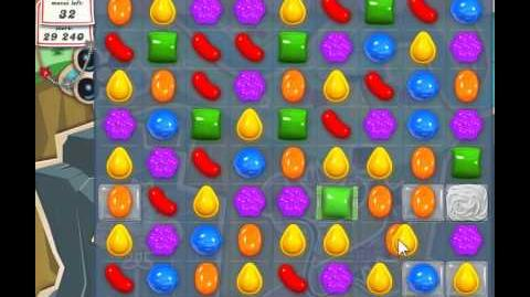 Candy Crush Saga Level 21 - 3 Star - no boosters
