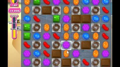 Candy Crush Saga Level 166 - NO BOOSTER