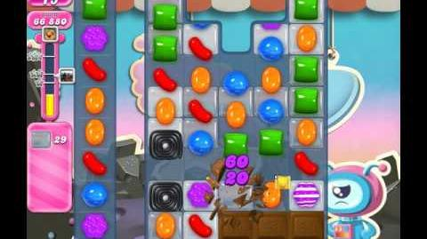 Candy Crush Saga Level 103 ( New with 15 Moves Candy Bombs ) No Boosters 3 Stars