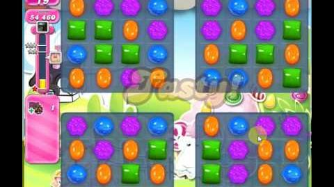 Candy Crush Saga Level 467 (New Effect) ★