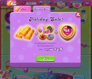 Holiday Sale on bank