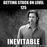 Level 125 stuck