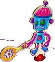 Alien Robot character before