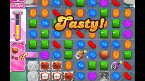Candy Crush Saga Level 278 - 1 Star - no boosters