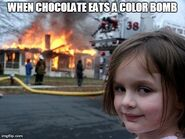 When chocolate