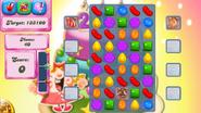 Level 207 mobile new colour scheme (before candies settle)
