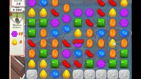 Candy Crush Saga Level 127 - 3 Star - no boosters