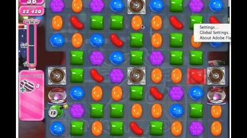 Candy Crush Saga Level 266 - 3 Stars No Boosters