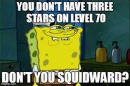 Level 70 three stars