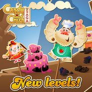 New levels released 147