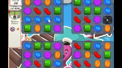 Candy Crush Saga Level 131 - 2 Star - no boosters