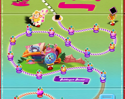 Bubblegum Bazaar Map