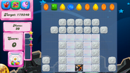 Level 100 mobile new colour scheme with sugar drops (before candies settle)