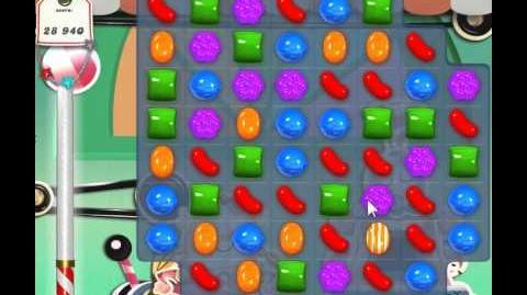 Candy Crush Saga Level 20 - 3 Star - no boosters