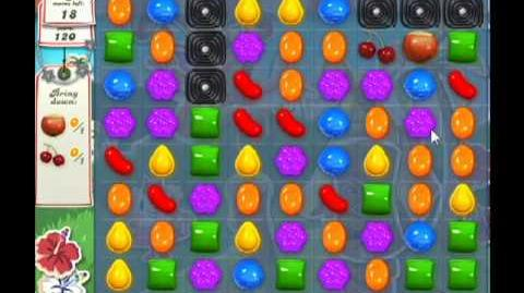 Candy Crush Saga Level 196 - 3 Star - no boosters
