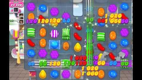 How to beat Candy Crush Saga Level 8 - 3 Stars - No Boosters - 47,680pts