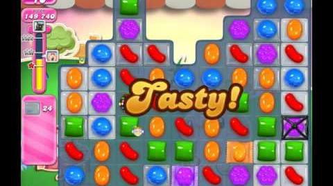 Candy Crush Saga Level 68 ( 22 Moves ) No Boosters 3 Stars