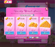 Candy Crush Bank(With Mobile)