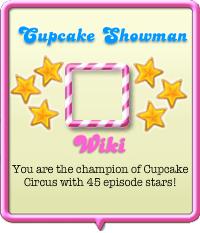 Cupcake Showman