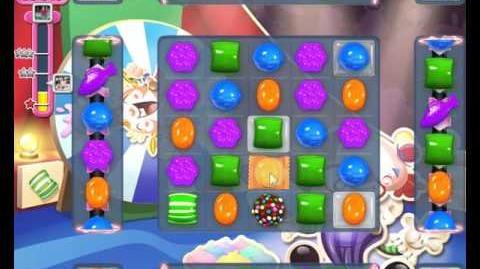 Candy Crush Saga LEVEL 1373 new version (three-layered icing)