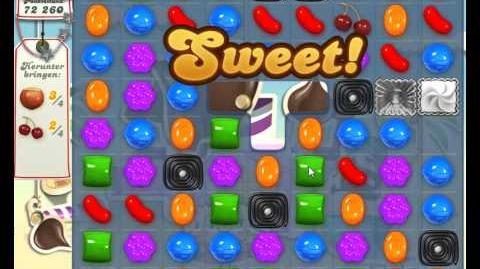 Candy Crush Saga Level 124